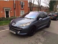 PEUGEOT 207 GT -- 1.6 HDI DIESEL LEATHERS PAN ROOF - PX WELCOME