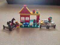 Lego Duplo Farm Set 2694 and Tractor Set 2696