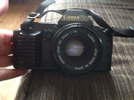 Canon T70 camera
