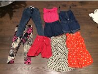Bundle of girls clothes lovely items 3-4 years 25 items