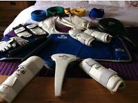 Taekwondo proctection bundle - grab a bargain now !