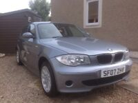 BMW 1 series 116i 07 plate