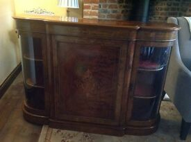 Walnut Credenza/ sideboard - Delivery in Kent £39!