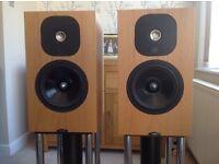 Neat Momentum 3i speakers.