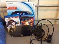 Ps vita 3G wifi console with 2 games
