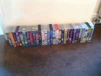 Various children's vhs tapes