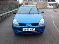 12/MOT 2018 - RENAULT CLIO 16V - BLUE - 2 OWNERS FROM NEW - VERY CLEAN - £895 Ono
