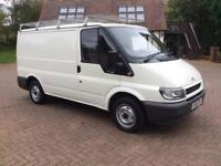 FORD TRANSIT 280 SWB 2004, 12 MONTHS MOT, 139000 MILES, Roof Rack, Ply lined and Bulk Head