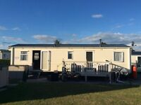 SPACIOUS FAMILY 8 BERTH CARAVAN FOR HIRE TECCO BAY PORTHCAWL SCHOOL HOLIDAYS AVAILABLE