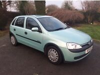 CORSA 1.4 AUTO 5 DOOR 36,000 MLS MINT CONDITION PREVIOUSLY GARAGED (collectors item?)