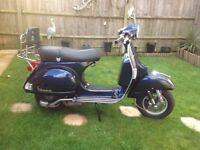 Vespa PX150 Motor Scooter excellent condition for sale