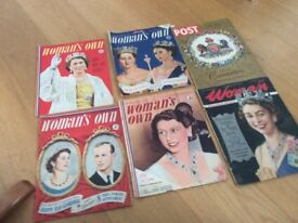 Old women's own magazines
