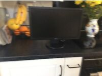 19inch Acer LCD monitor Black in colour
