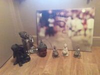 Buddha picture and accessories