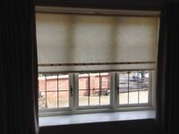 2 pairs of Curtains and 4 Roller blinds