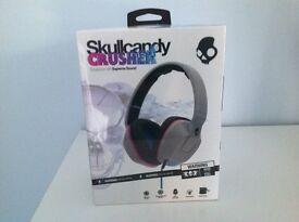 Skullcandy Crusher Supreme Sound Headphones - BRAND NEW