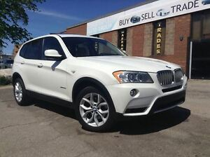 2011 BMW X3 35i TURBO | NAVIGATION | BLUETOOTH | PANO SUNROOF