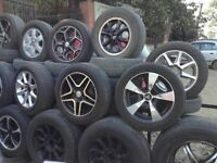 we have cheap alloy wheels for sale including tyres