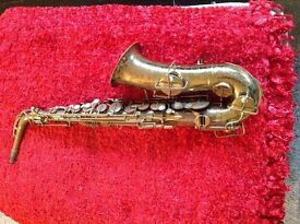 Buescher alto saxophone - total overhaul - excellent sound and working order