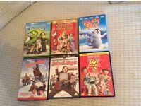 Kids dvds £1 each
