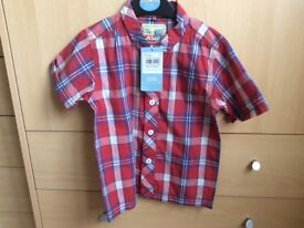 NEW WITH TAGS Boys shirt 1.5-2 years/18-24 months