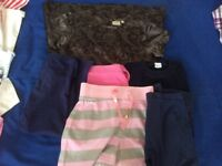 Bundle of girls clothes aged 8 M&S and Next