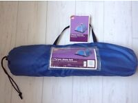 2 Person Tent new in a carry bag with handle. with mesh inner door screen