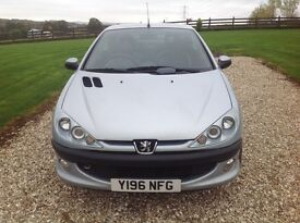 Peugeot 206 hard top convertible