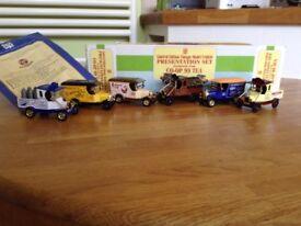 Coop Tea Collectors' Set of 6 Vehicles