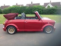 Very very rare rover mini cabriolet very low original miles all standard not modified in any way