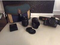 Nikon d3100 camera and accessories