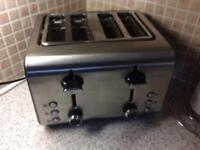 4 slice toaster perfect condition