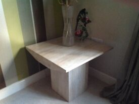 2 side tables for sale - stone