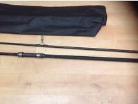 New fox warrior tt carbon carp rod.