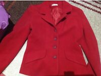 Red jacket (Snob) size 12