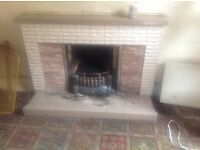 FREE TILED FIRE SURROUND