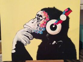 New Monkey painting