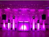 complete wedding package disco led dance floor uplighting 4ft led love letters