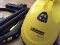Karcher steam cleaner SC 1.020. + 3 bottles Home-tec water softener (£10)
