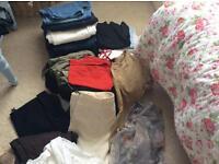 Huge bundle of women's clothes mostly next size 16