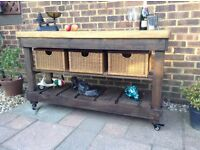 5ft Rustic Solid Pine Kitchen Island/Sideboard... Possible Delivery