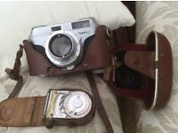Arette C 1950's camera and light meter