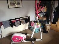 Cross trainer / exercise machine