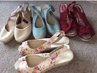 Wedges four pairs