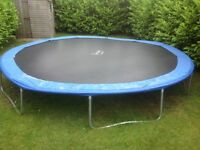 18 foot trampoline for sale