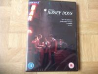 JERSEY BOYS DVD. BRAND NEW AND SEALED.