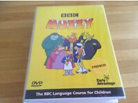 BBC Muzzy French DVD language scourge for children -system complete educational Easter gift