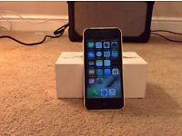 i phone 5 c in white