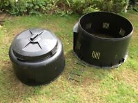 Garden compost bin free to collect