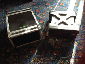 For Sale: 2 x Rack Mounted Flight Cases